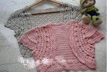crochet & knitted bolero