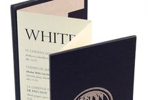 Scala Menu Covers / Scala Menu Covers - concertina style menu covers for a contemporary menu solution.