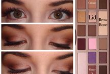 Chocolate bar eye looks