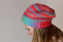 Crochet: hats and scarfs