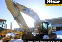 TRACK EXCAVATORS / Visit Mico Equipment for a Great Selection of Used Excavators for Sale or Rent. Find High Quality Caterpillar Excavators, All at Affordable Prices. Request a Quote Today.