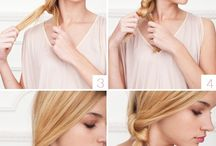Hair Inspiration / Great looks for Engagements, Bridal or Wedding Hair Styling.