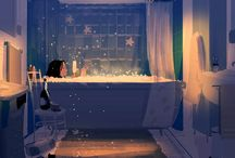 Relaxing bath time