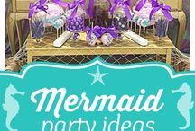 Kinlei's mermaid party