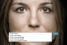 UN Women ad series #womenshould / Ad series developed for UN Women by Ogilvy & Mather Dubai / by UN Women