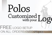 Custom Polos – Logo Embroidered Ladies and Mens Polo Shirts / Buy online, long sleeve and short sleeve custom logo embroidered polo shirts for men and women at EZ Corporate Clothing, or call 1-877-304-1899. http://www.ezcorporateclothing.com/pages/custom-polos