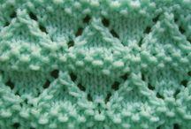 CROCHET/KNITTING:  stitches