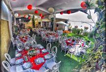 Jardín Terrazas Lindavista / Jardín con capacidad para 120 personas, perfecto para eventos íntimos y familiares; los bautizos y bodas en la tarde son ideales en este hermoso jardín.