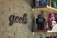 Geek Home Decor / Some geek inspired ideas to spruce up your fortress of solitude.