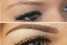 semi permanent makeup- brows