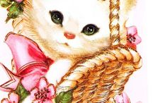 Vintage cards / by Annette Gibson