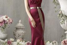 Fashion ✄ Dress (Burgundy)