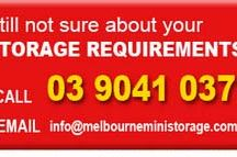 Storage Guide / Melbourne Mini Storage Guides. Providing you tips on selecting the best storage for you.