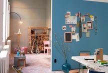 Ideeën muur woonkamer