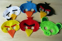 Angry Birds Party / by Luci McKean