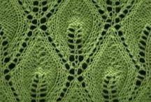 knitting leaves pattern