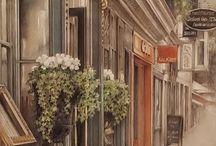 Francesc Congost Tor expone su pintura a Blanes. 2017