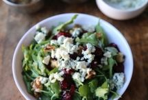 saladelicious / SALADS! SALADS EVERYWHERE! / by Celest Dines Muntaner