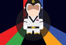 Voltron: Defender of the Universe / Minimalistic Figures of Voltron