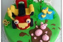 B Birthday cake ideas