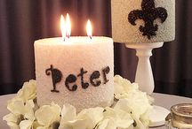Birthday an Christening candles
