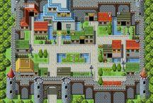 pixel arts image city