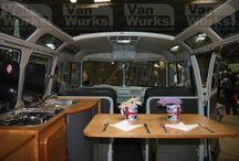 VW campervan interiors
