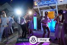 Vietnamese Wedding in Mykonos | Mai Anh & Hung | September 2016 / Memories from the amazing wedding of Mai Anh and Hung who travelled all the way from Vietnam and England to celebrate their special day in a private villa in Mykonos | DJS on Decks: Mike Vekris and Rafail Michailides
