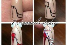 Винтажные ногти