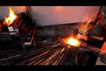 Metal Works- Blacksmith, Forged metal
