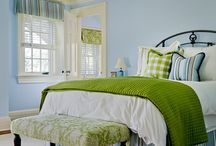 Home- Bedroom Ideas / by Tracey Shellenberger Edwards