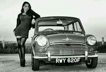 mini cooper pin up