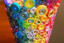 Recycled Materials Art and Crafts