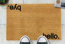 Welcome Doormat Collection