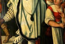 Spanisch mantels form 1510's - 1550's