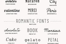 Crafts: Fonts / by Adria Riley