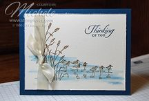 Stampin Up Wetlands / handmade cards
