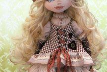 куклы ручной работы / интересные идеи, хобби