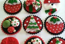Cupcake fondant toppings
