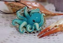 octopus jewelry.