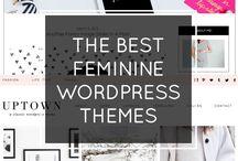 ► Thèmes wordpress premium & féminins ◄ / Trouve le thème wordpress qui te correspond !