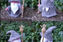 LOTR/Hobbit knitting / by Emma Tetley