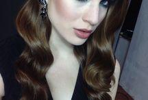 My work :) make up & hair: Renata Bator / My work:) make up& hair