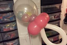 Baby Shower Decor / These are balloons we have created for Baby Showers or reveal parties
