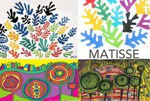 art / artists for preschoolers