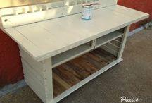 Werkbank/Tisch Palette