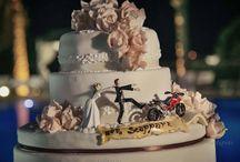Cake Topper / Cake Topper, statuine raffiguranti gli sposi  per la tarta del matrimonio
