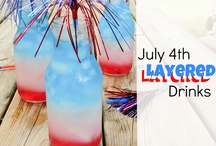 RED,WHITE and BLUE / Let's celebrate the red, white and blue with this patriotic food and 4th of July decor and DIY board. / by Arlene | Flour On My Face