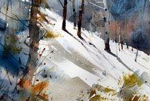 Akvarellkonst
