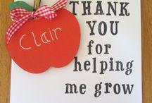Teacher's Gifts Ideas / Handmade gift ideas for teachers from the best UK based artisans and makers.